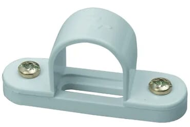 Image of Marshall Tufflex MSB3WH 25mm PVC Spacer Bar Saddle White