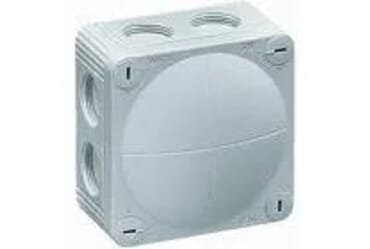 Image of Wiska 41A Weatherproof Junction Box 66x110x110mm IP66