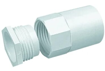 Image for Marshall Tufflex MAB2 Adaptor Plastic PVC 20mm White Female