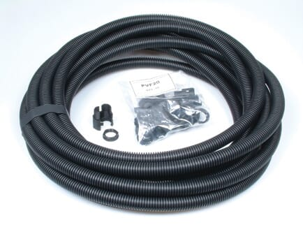 Flexicon 20mm Flexible Conduit Fitting Kit Nylon Black 10 Pack