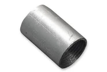 Image of 2 Inch Metal Coupler Solid Galvanised Each