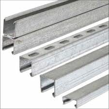 Metal Channel Light Duty Slotted 41x21mm 3M
