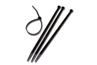 Image of SWA Black Cable Ties 100mm x 2.5mm 100 Pack
