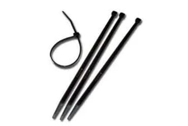 Image of SWA Black Cable Ties 200mm x 3.6mm 100 Pack