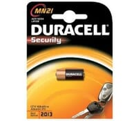 Image for Duracell Battery 12Volt 23Amp Type VR22 or GP23A or L1028 or EL12 Pack of 1