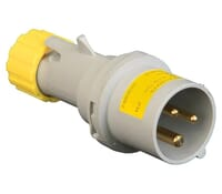 Image for Lewden PM16/1000FPB Yellow Plug 16A 2P+E 110V IP44