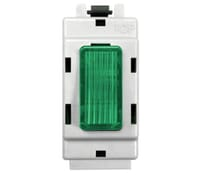 Image for BG Electrical Nexus Grid GINGR Grid Switch Indicator Green white