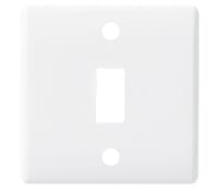 Image for BG Electrical Nexus Grid G81 Grid Plate 1 Gang White