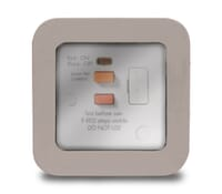 Image for BG Electrical Nexus Storm WP55RCD 13 Amp RCD Protection Fused Connection Unit Latching White