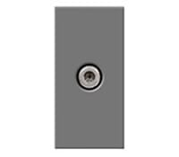 Image for BG Electrical Nexus Euro Module EMSATG Satellite Female Screened Outlet Grey