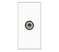 Image for BG Electrical Nexus Euro Module EMSATW Satellite Female Screened Outlet White