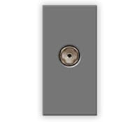 Image for BG Electrical Nexus Euro Module EMTVFG IEC Female Return Screened Outlet Grey