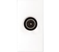 Image for BG Electrical Nexus Euro Module EMTVFW IEC Female Return Screened Outlet White