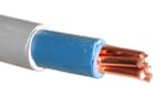 Image for Cable 6181Y 25mm Single Double Insualted Tails Blue/Grey Per Metre