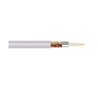 Coaxial Cable 75 Ohm White 1M