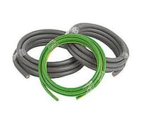 Image for Cable Double Insualted Tails Pack 1 Metre of 25mm Brown 25mm Blue and 16mm Green and Yellow Earth