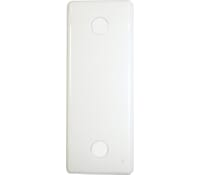 Image for BG Electrical Nexus Moulded 836 1Gang Architrave Blank Plate White
