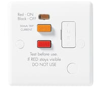 Image for BG Electrical Nexus Moulded 855RCD 13 Amp RCD Fused White