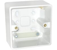 Image for BG Electrical Nexus Moulded 877 1 Gang Surface Box 50mm White