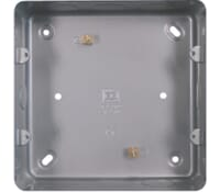 Image for BG Electrical Nexus Metal Clad MC503 Double Metal Box Surface Or Flush Mount 6G And 8G Grid