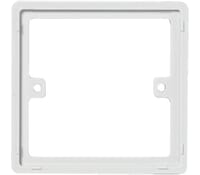 Image for BG Electrical Nexus Moulded 817 1 Gang 10mm Square Spacer White
