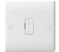 Image for BG Electrical Nexus Moulded 854 13 Amp Unswitched And Fused White