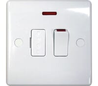 Image for BG Electrical Nexus Moulded 853 13 Amp Switched And Fused With Neon And Flex Outlet White