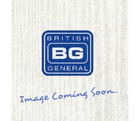 Image for BG Electrical Nexus Metal NBS22UB 13A 2 Gang Switched Socket and USB Black Insert Brushed Steel