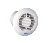 Image for Vent Axia Basics Range ECLIPSE 100XT 4 Bathroom/toilet Fan with Timer 427282
