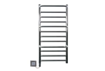 Image of Dimplex Compact Towel Rail CPTS 120W Stepped Chrome Bathroom Radiator