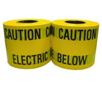 Image for Brackenheath Ancillaries SEUM1 Warning Tape Caution Electric Cable Below