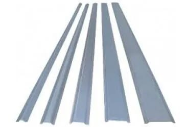 Image of 25mm Metal Steel Channel Capping 2M