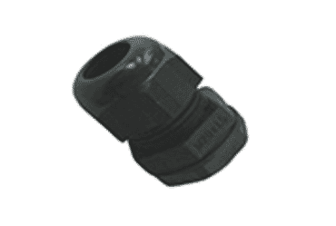 Image for SWA Cable Dome Gland 25mm IP68 Polyamide with Locknut Black