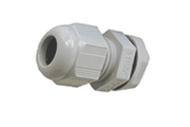Image for SWA Cable Dome Gland 32mm IP68 Polyamide with Locknut Grey