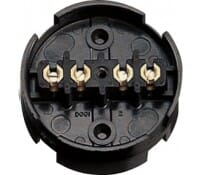 Image for BG Electrical Nexus Junction Boxes 604 Junction Boxes Brown 4 Way 20 Amp 80mm Diameter Brown