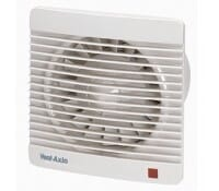 """Image for Vent Axia Silhouette 150 Range Silhouette 150XT 6"""" Kitchen Axial Low Profile Extract Fan with Shutter and Timer"""