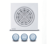 Image for Envirovent Silent 150 SIL150S Ultra Quiet 150mm Standard Extract Fan