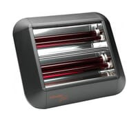 Image of Dimplex QXD3000E Outdoor Infrared Wall Heater with Bluetooth Control 3kW