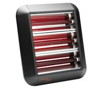 Image of Dimplex QXD4500E Outdoor Infrared Wall Heater with Bluetooth Control 4.5kW