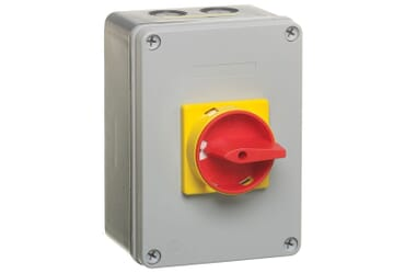 Image of Europa Rotary Isolator Switch 63A 4 Pole IP65