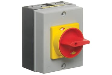 Image of Europa LB204P 20A 4 Pole Modular Contractors Insulated IP65