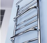 Image for Dimplex Compact Range CPTS 120W Bathroom Towel Rail IPX5 Rated Close Up