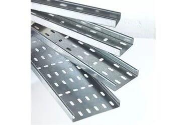 Image of Legrand Swifts MRFL/100/PG Medium Duty Cable Tray 100mm 3M Pre Galv