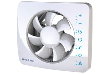 Image of Vent-Axia PureAir Sense Silent Bathroom Extractor Fan 479460