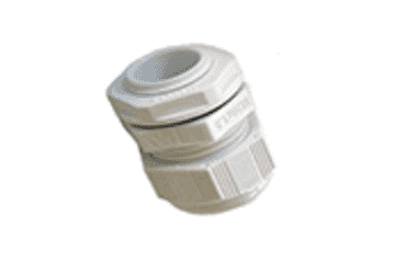 Image of SWA Cable Gland 25mm Large Aperture White IP68 Each