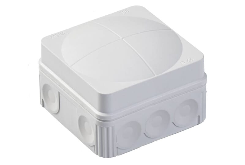 Wiska Weatherproof Junction Box 24A 51x76x76mm IP66