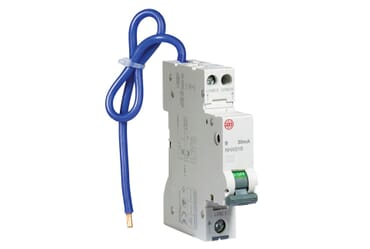 Image of Wylex NHXS1B06 6A RCBO DP Circuit Breaker Type B