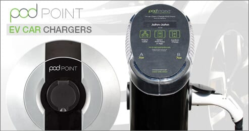 Image of POD Point EV Charger
